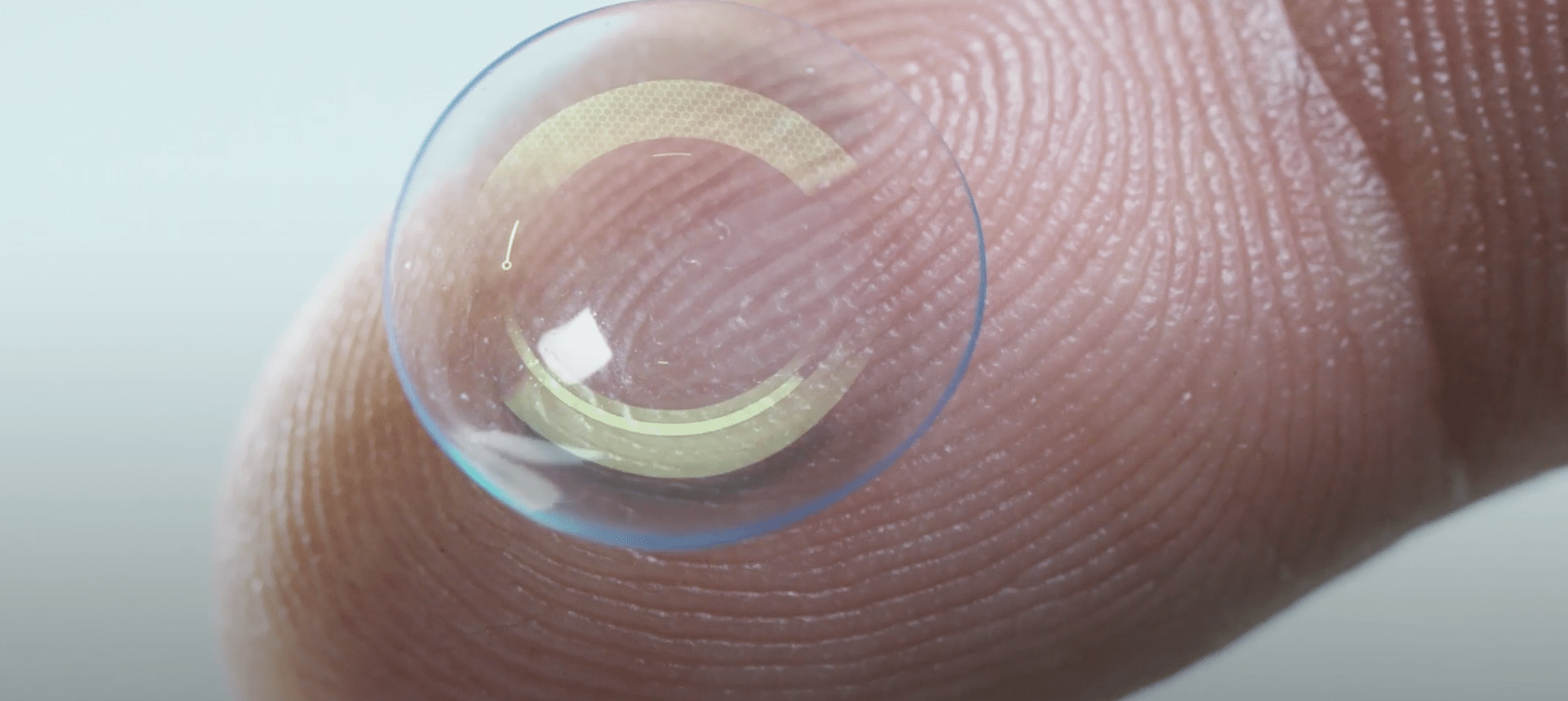 What If Eye Contact Lenses Could Record Corporate Video?
